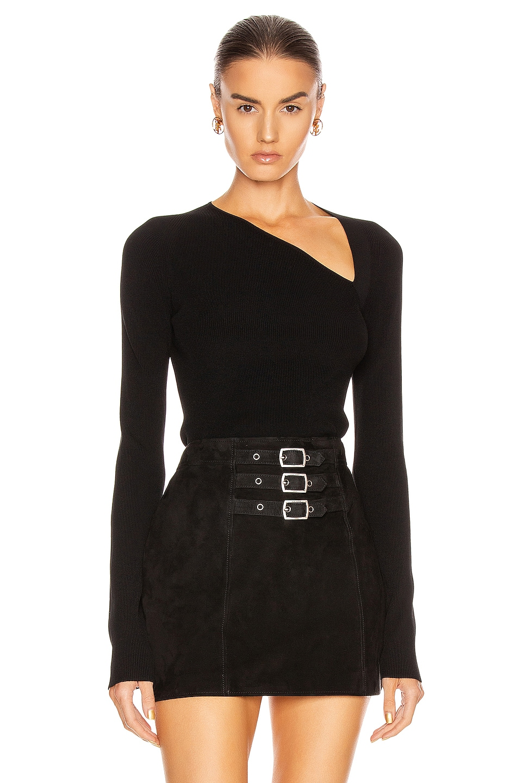 Image 1 of Helmut Lang Raglan Sweater in Black