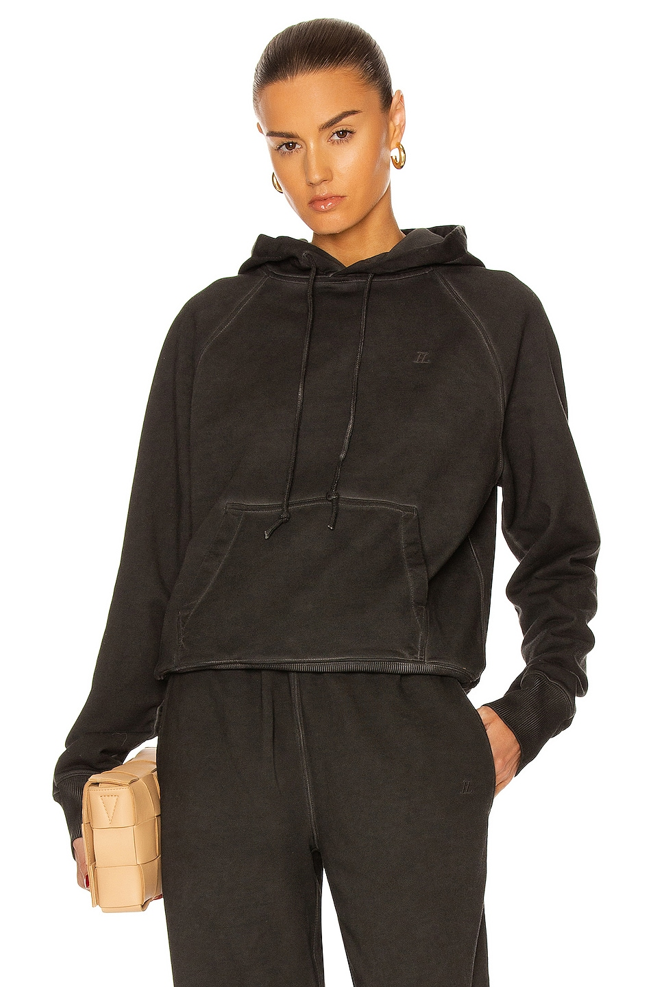 Image 1 of Helmut Lang Class Hoodie in Charcoal