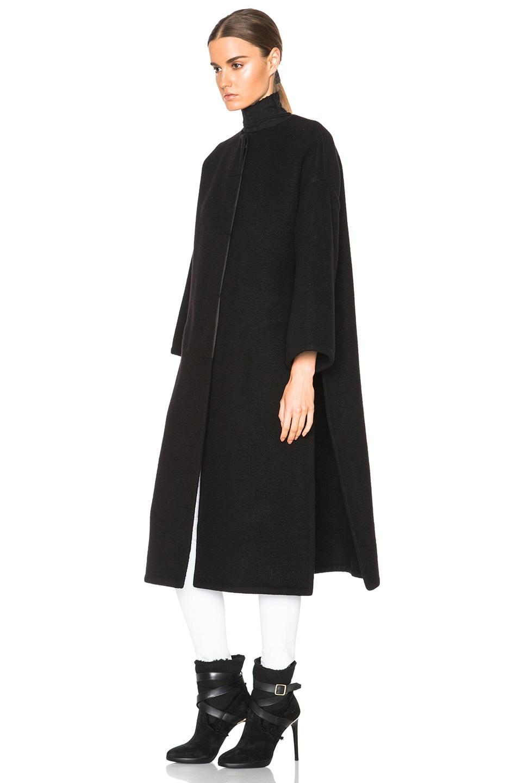 Image 3 of Helmut Lang Oversized Coat in Black