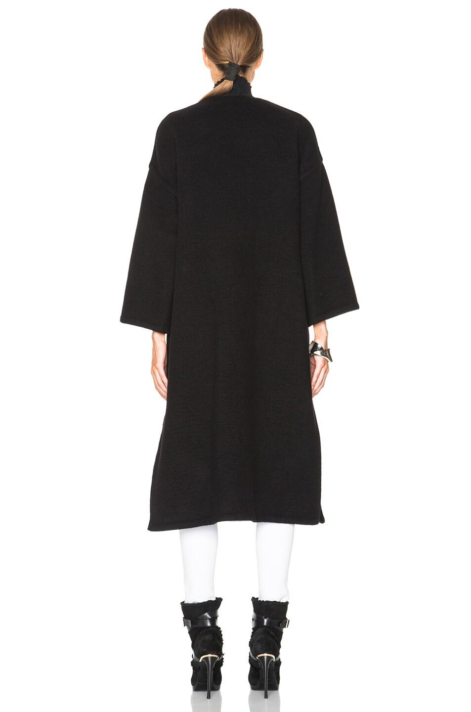 Image 5 of Helmut Lang Oversized Coat in Black