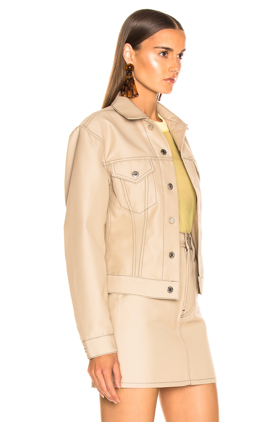 Image 3 of Helmut Lang Femme Trucker Jacket in Tufa
