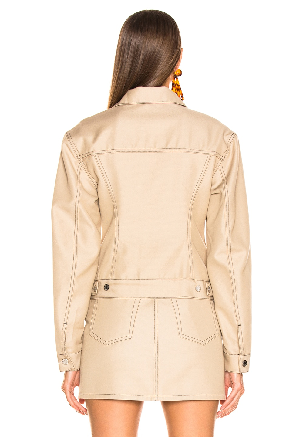 Image 4 of Helmut Lang Femme Trucker Jacket in Tufa