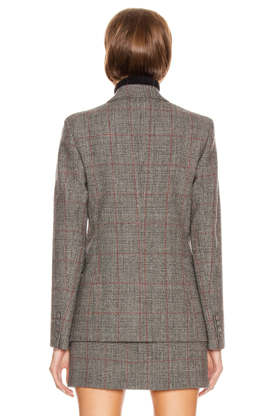 Image 5 of Helmut Lang Double Breasted Blazer in Charcoal