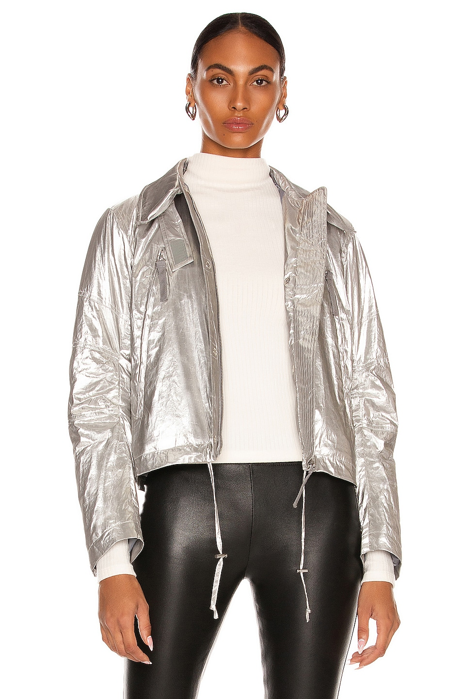 Image 1 of Helmut Lang Astro Jacket in Silver