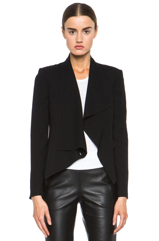 Image 1 of HELMUT Flash Drape Blazer in Black