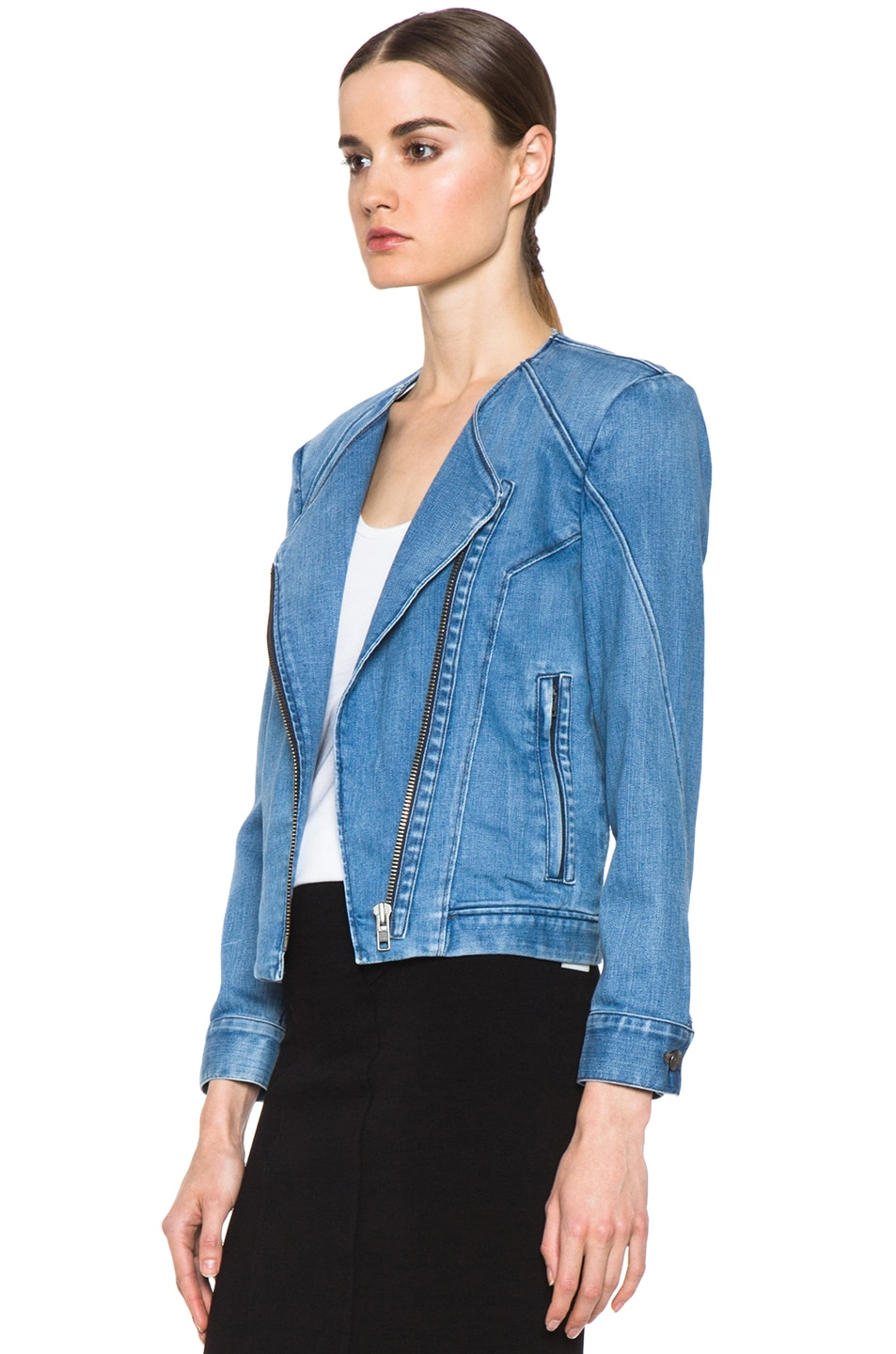 Collection Of Denim Moto Jacket Best Fashion Trends And