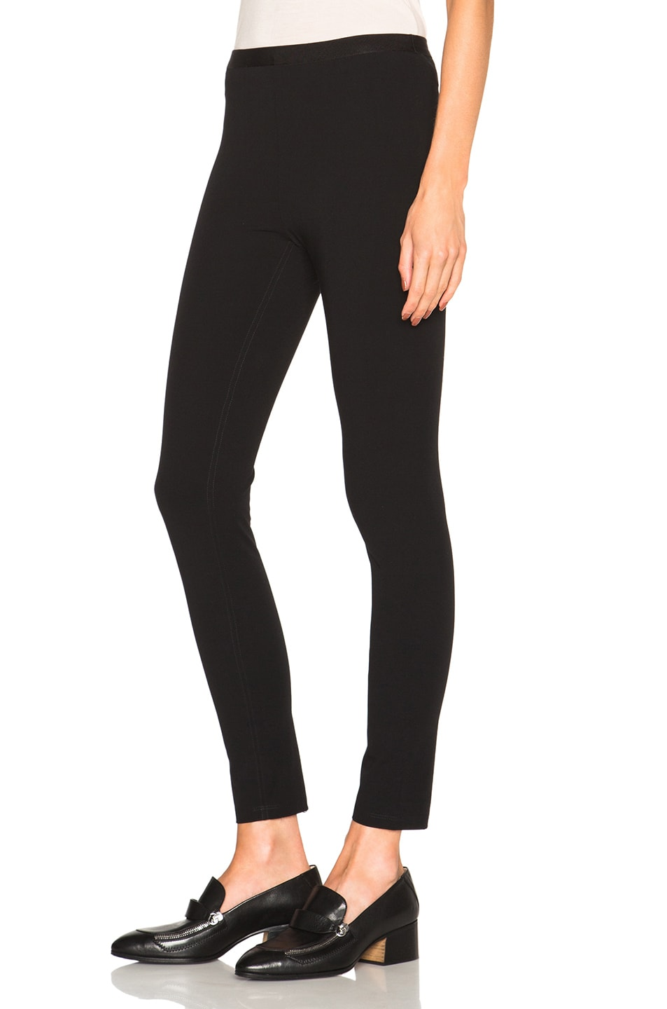 Image 2 of Helmut Lang Reflex Leggings in Black