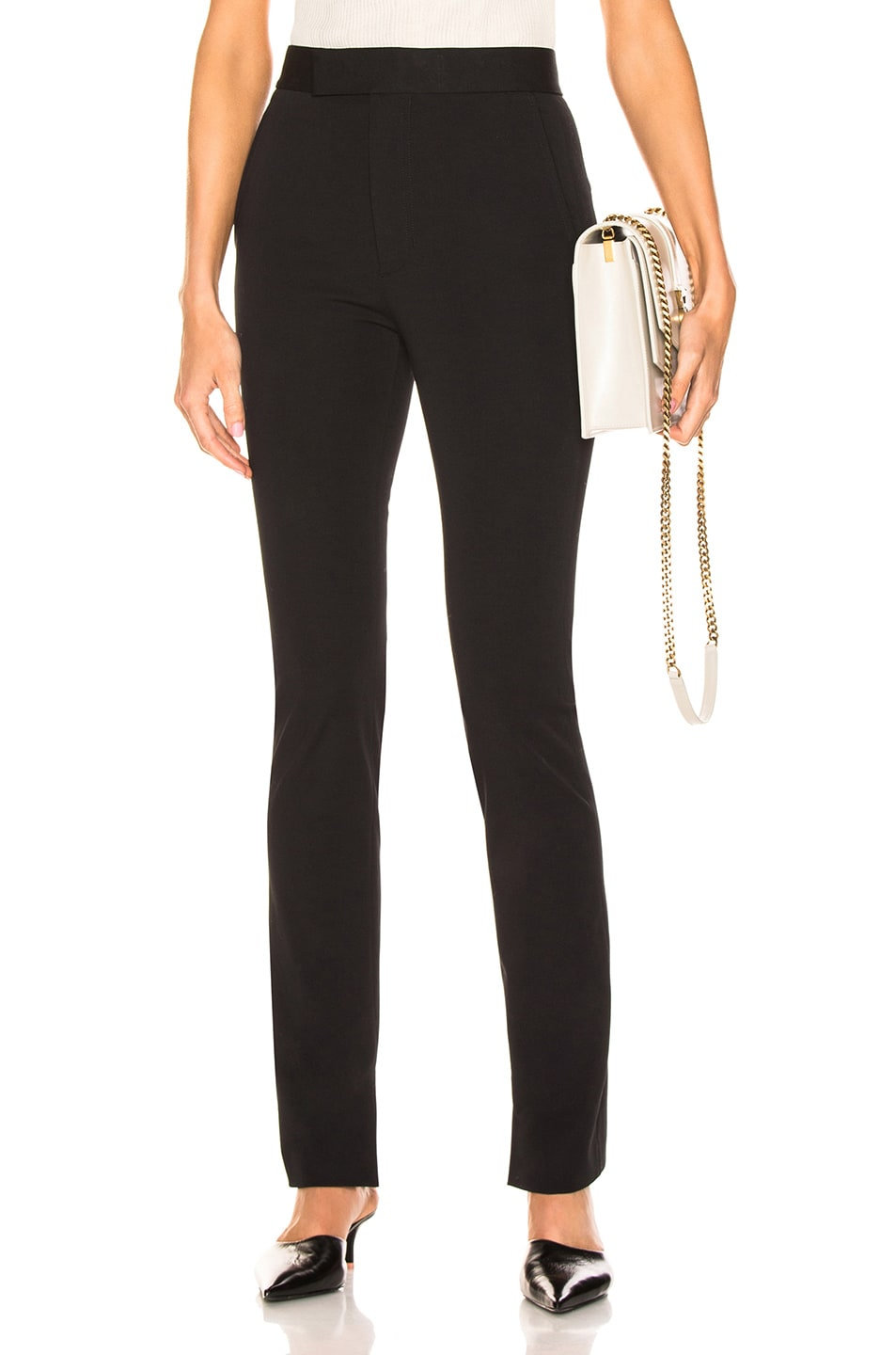 Image 1 of Helmut Lang Rider Legging Pant in Black