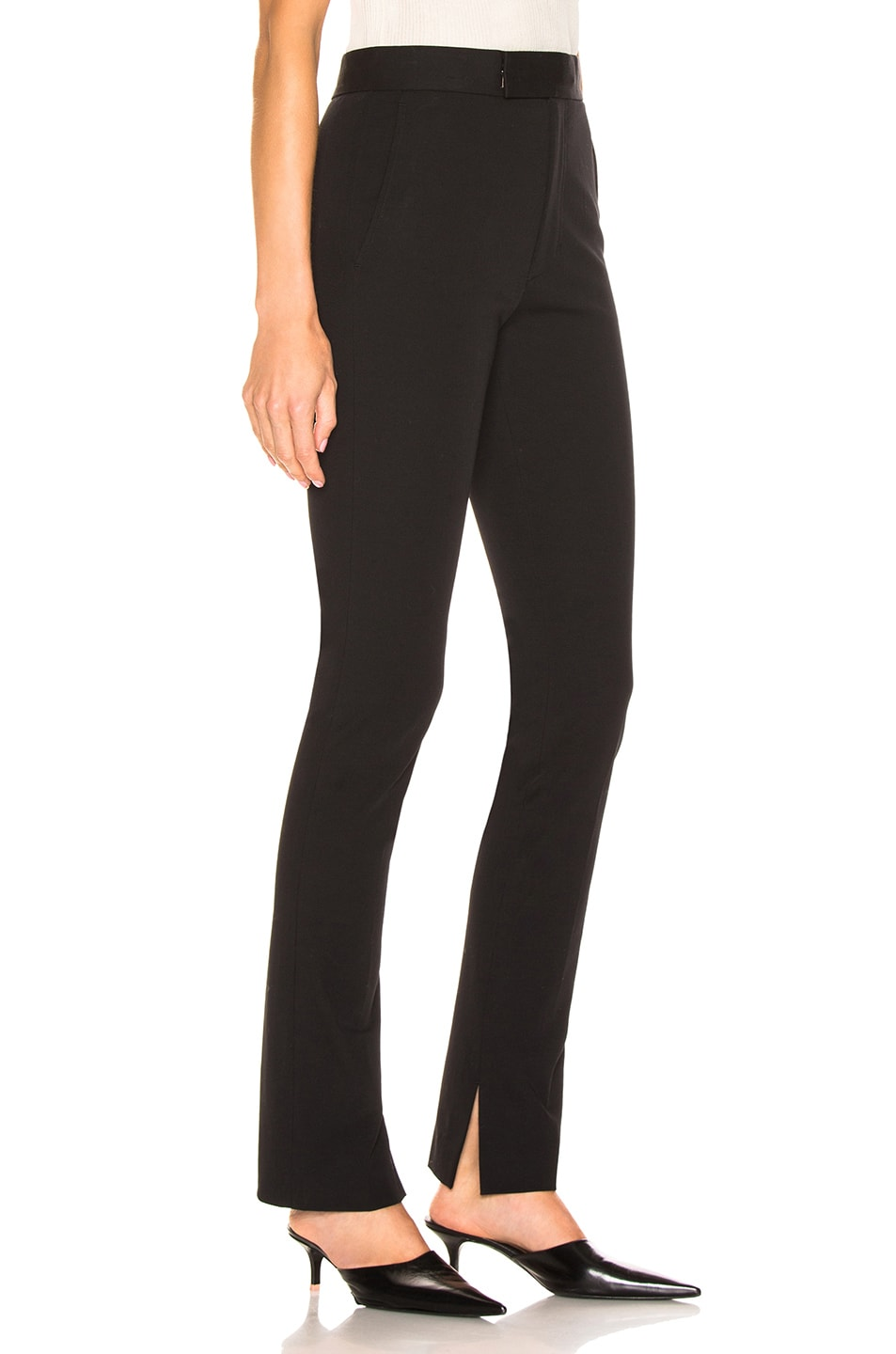 Image 2 of Helmut Lang Rider Legging Pant in Black