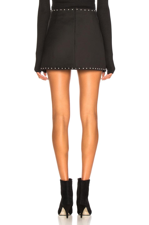 Image 4 of Helmut Lang Studded Mini Skirt in Black