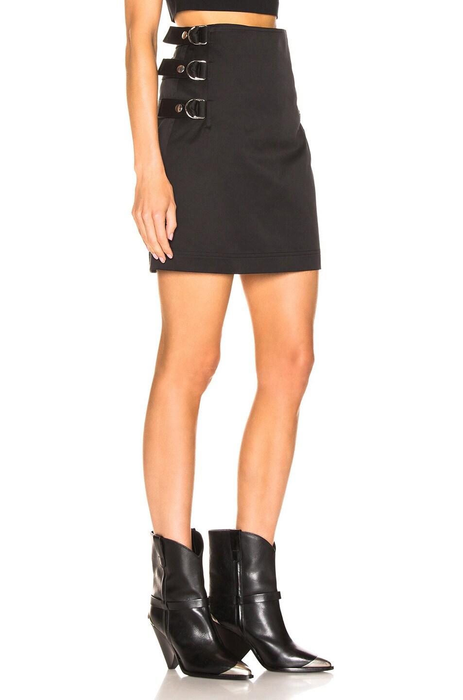 Image 3 of Helmut Lang Buckled Skirt in Black