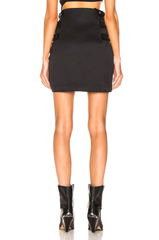 Image 4 of Helmut Lang Buckled Skirt in Black