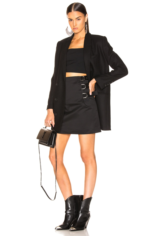 Image 5 of Helmut Lang Buckled Skirt in Black