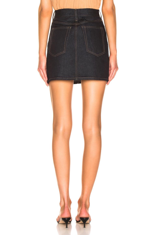 Image 3 of Helmut Lang Femme Mini Skirt in Indigo