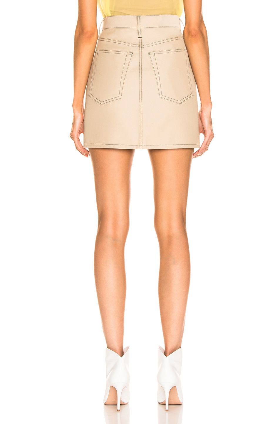 Image 3 of Helmut Lang Femme Mini Skirt in Tufa
