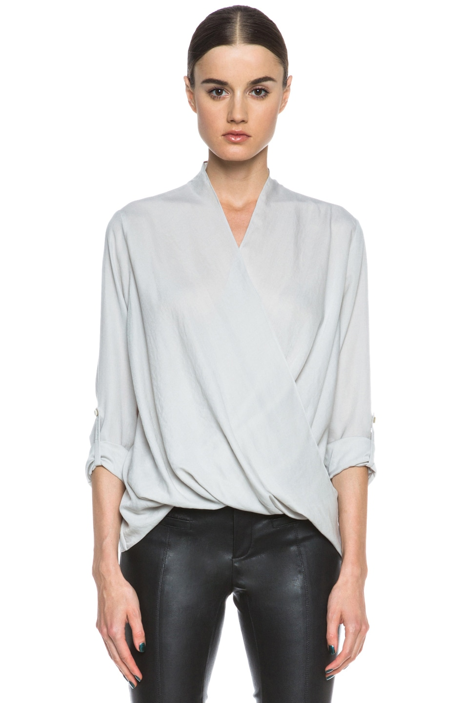 Image 1 of Helmut Lang Render Poly Top in Fog
