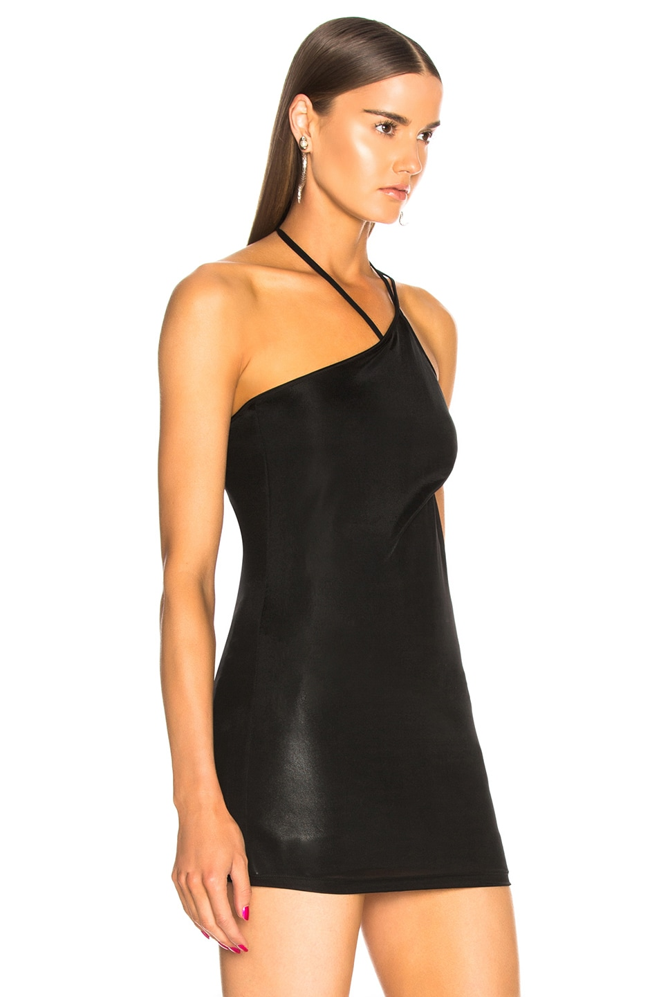Image 2 of Helmut Lang x Shayne Oliver Pulled Tank Top in Black