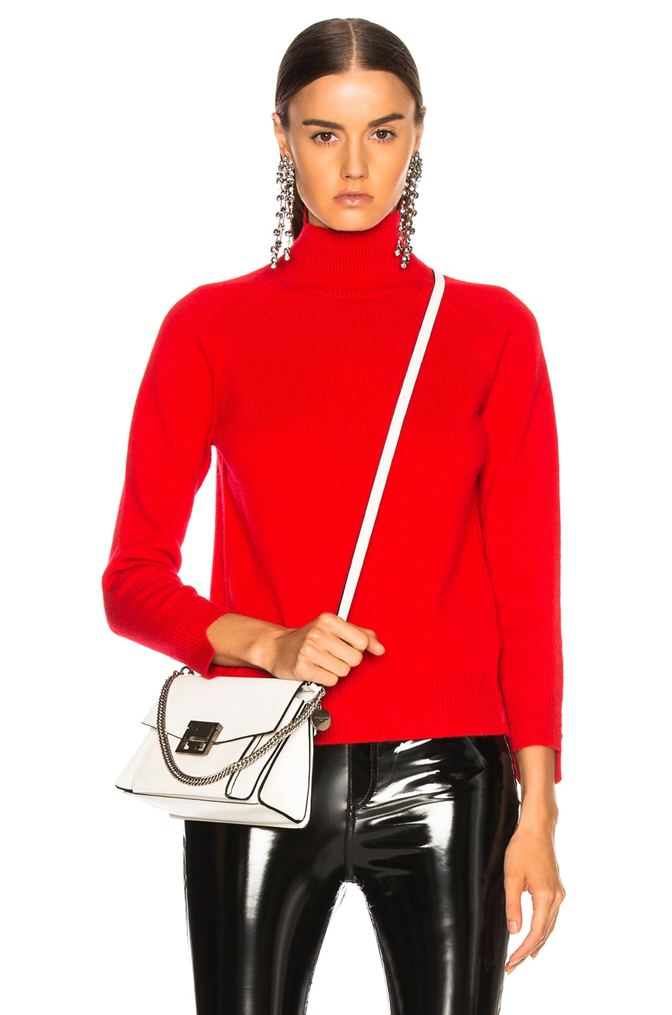 Image 1 of Helmut Lang Cashmere Turtleneck Sweater in Siren