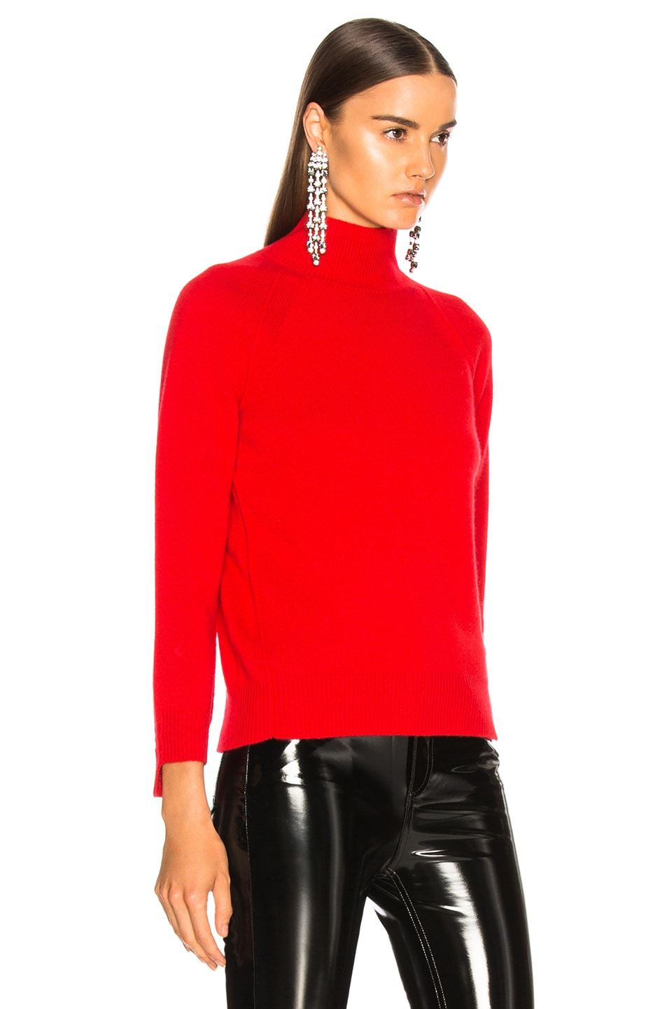 Image 3 of Helmut Lang Cashmere Turtleneck Sweater in Siren