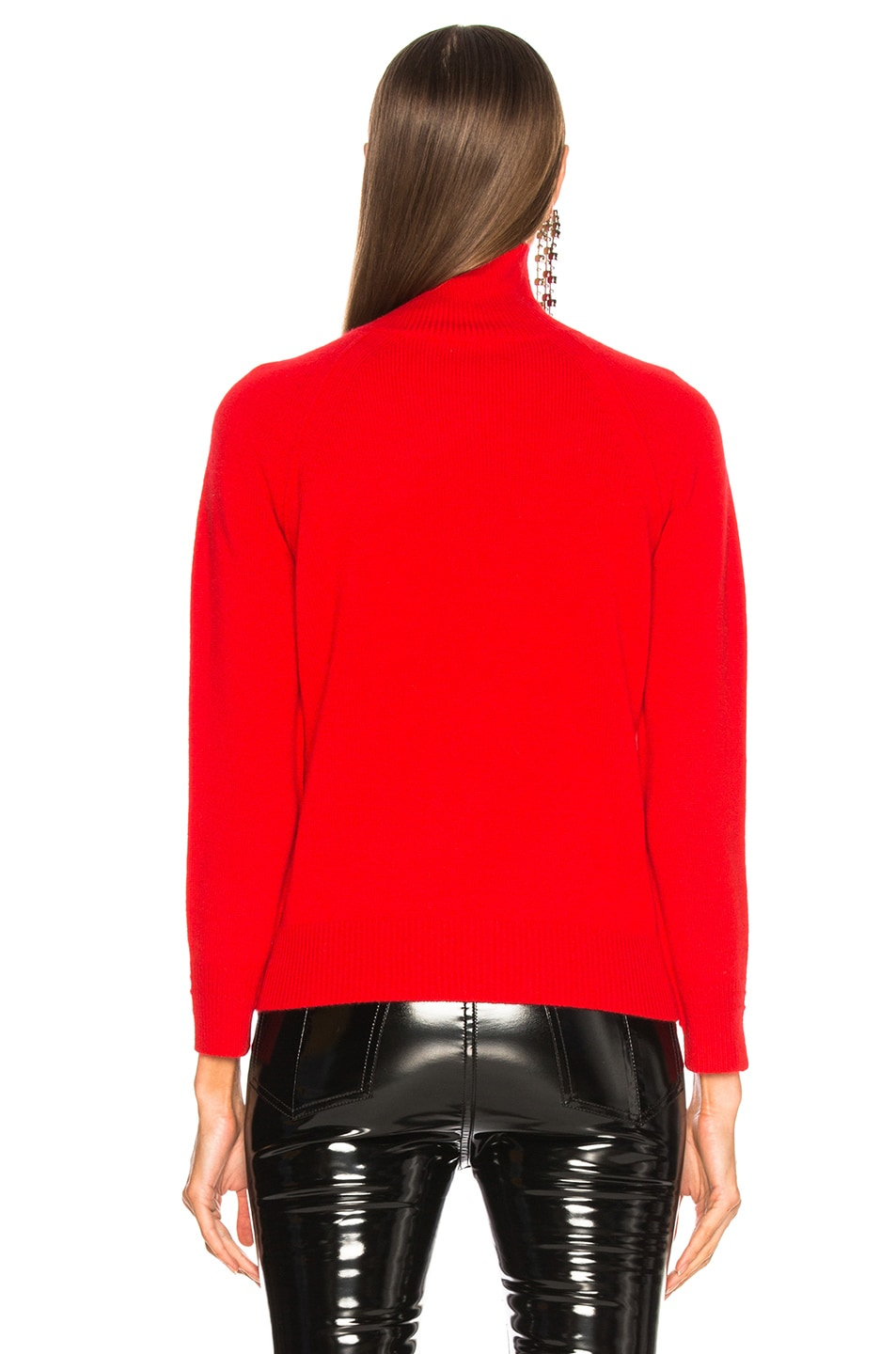 Image 4 of Helmut Lang Cashmere Turtleneck Sweater in Siren