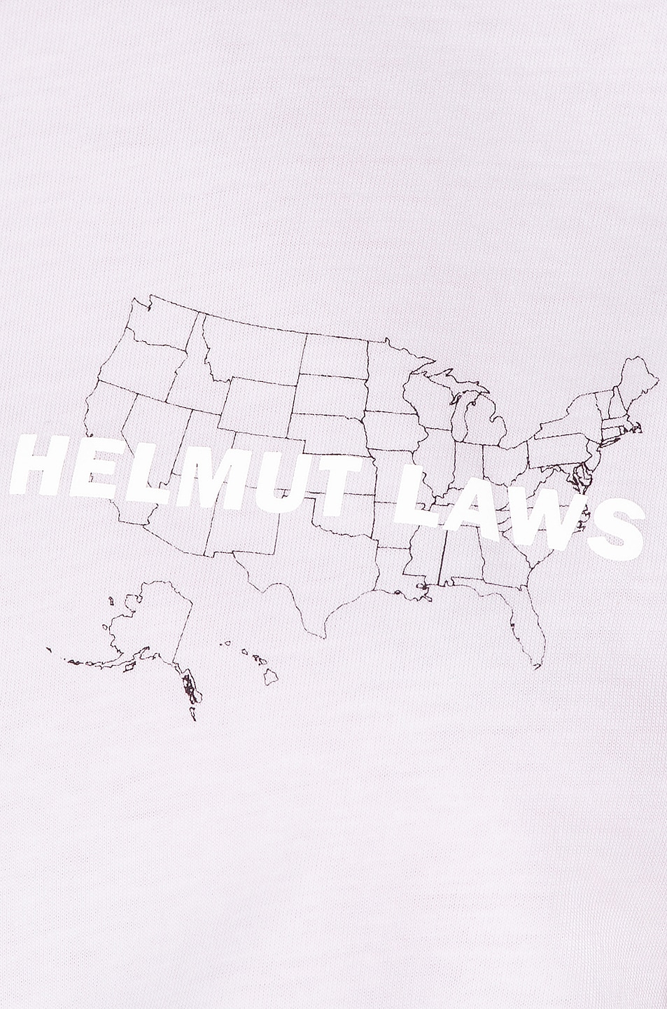 Image 5 of Helmut Lang Laws T Shirt in Chalk White