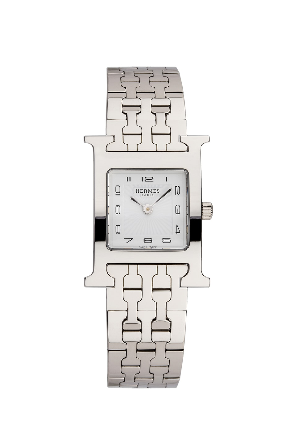 Image 1 of Hermes Heure Hour pm in Silver