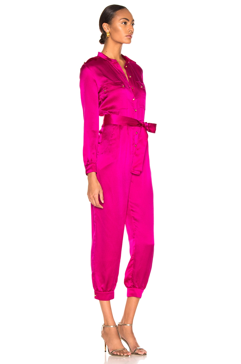 Image 2 of HANEY Lauren Jumpsuit in Magenta