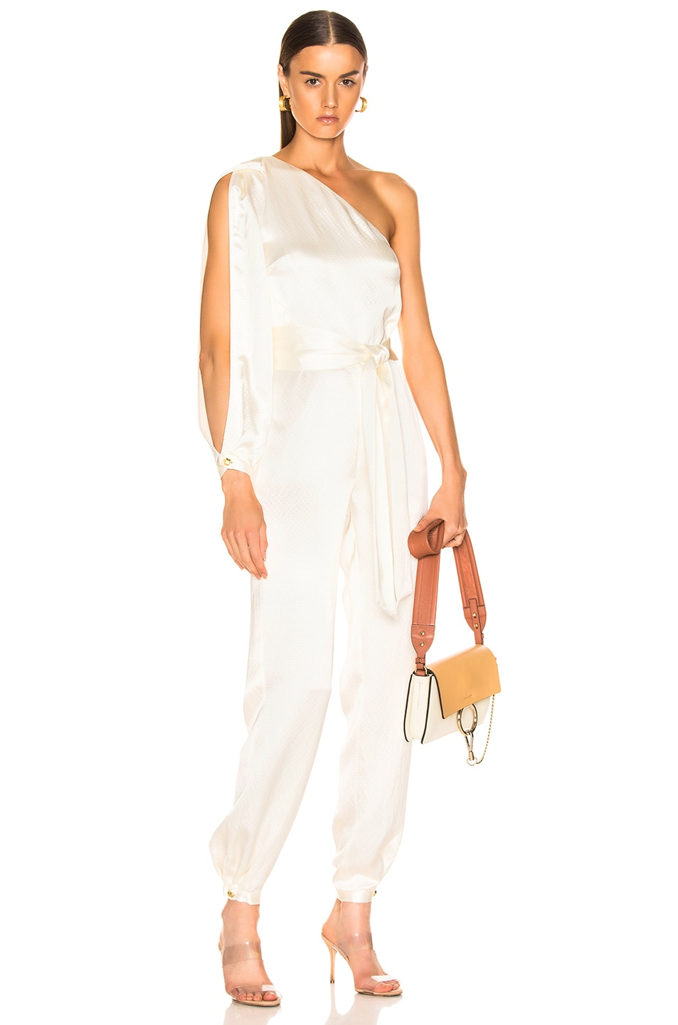 Image 1 of HANEY Emerson Jumpsuit in Ivory