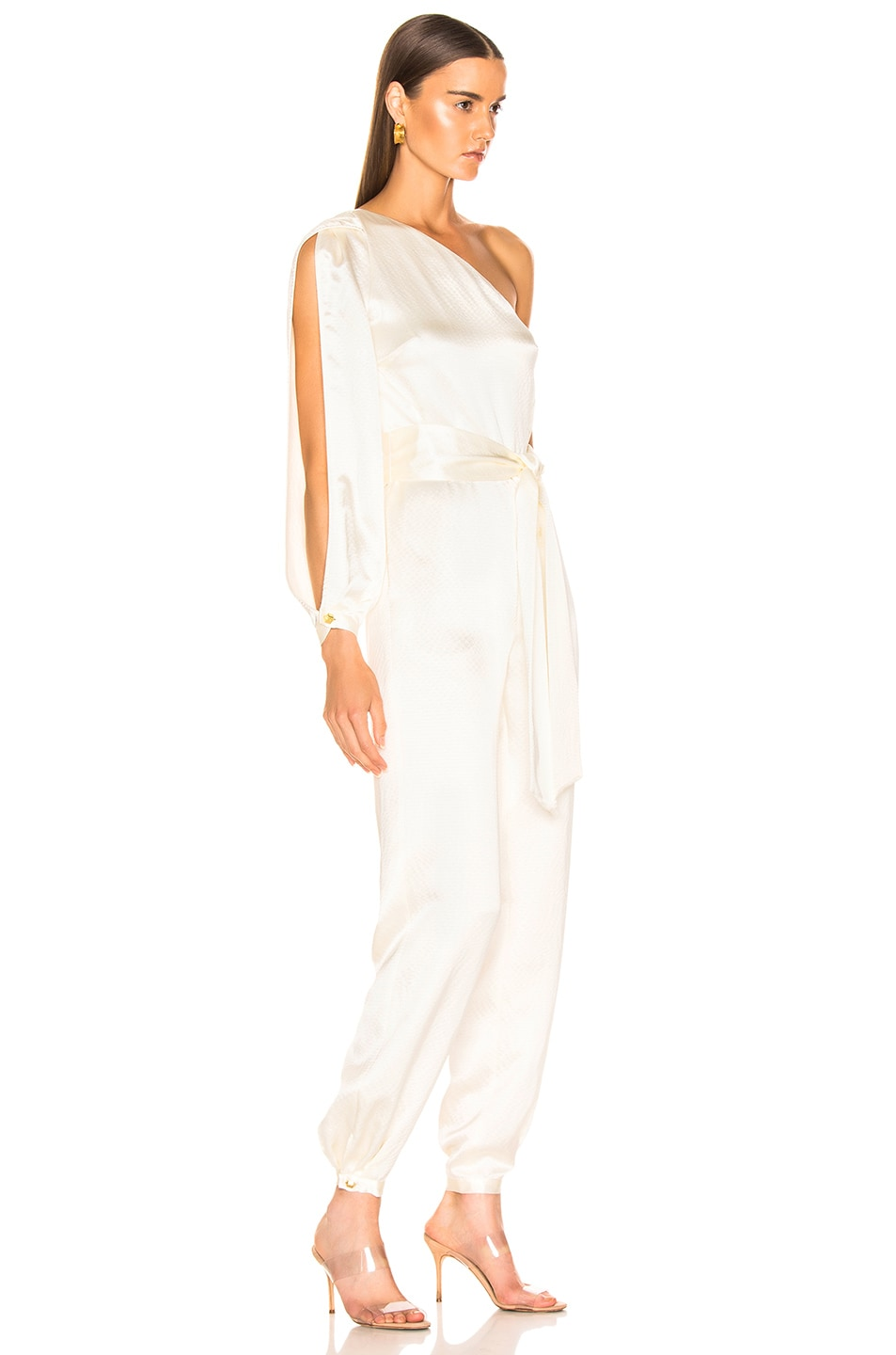 Image 2 of HANEY Emerson Jumpsuit in Ivory