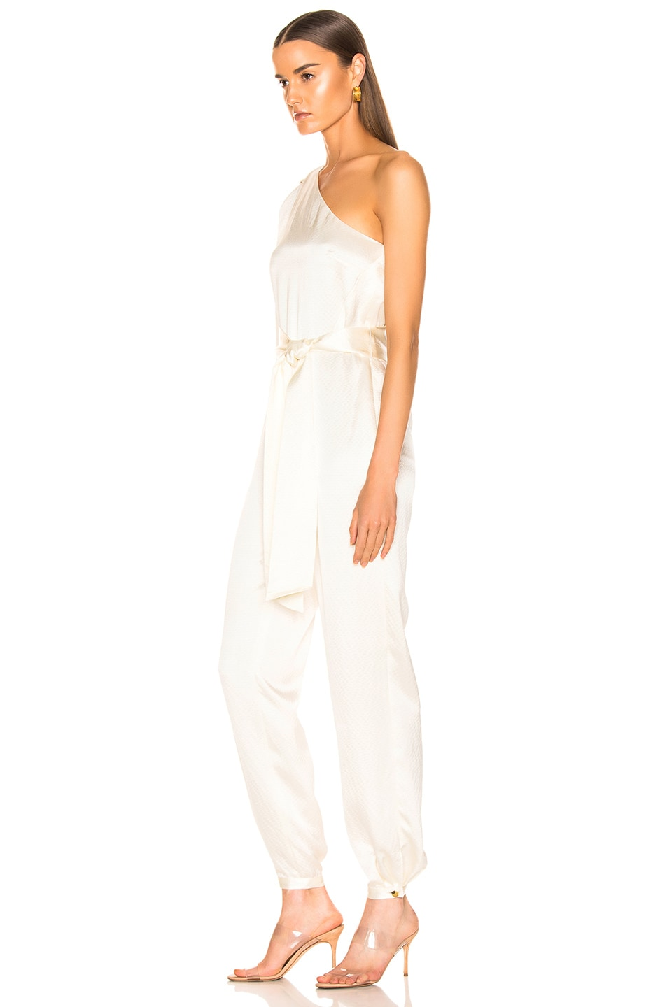 Image 3 of HANEY Emerson Jumpsuit in Ivory