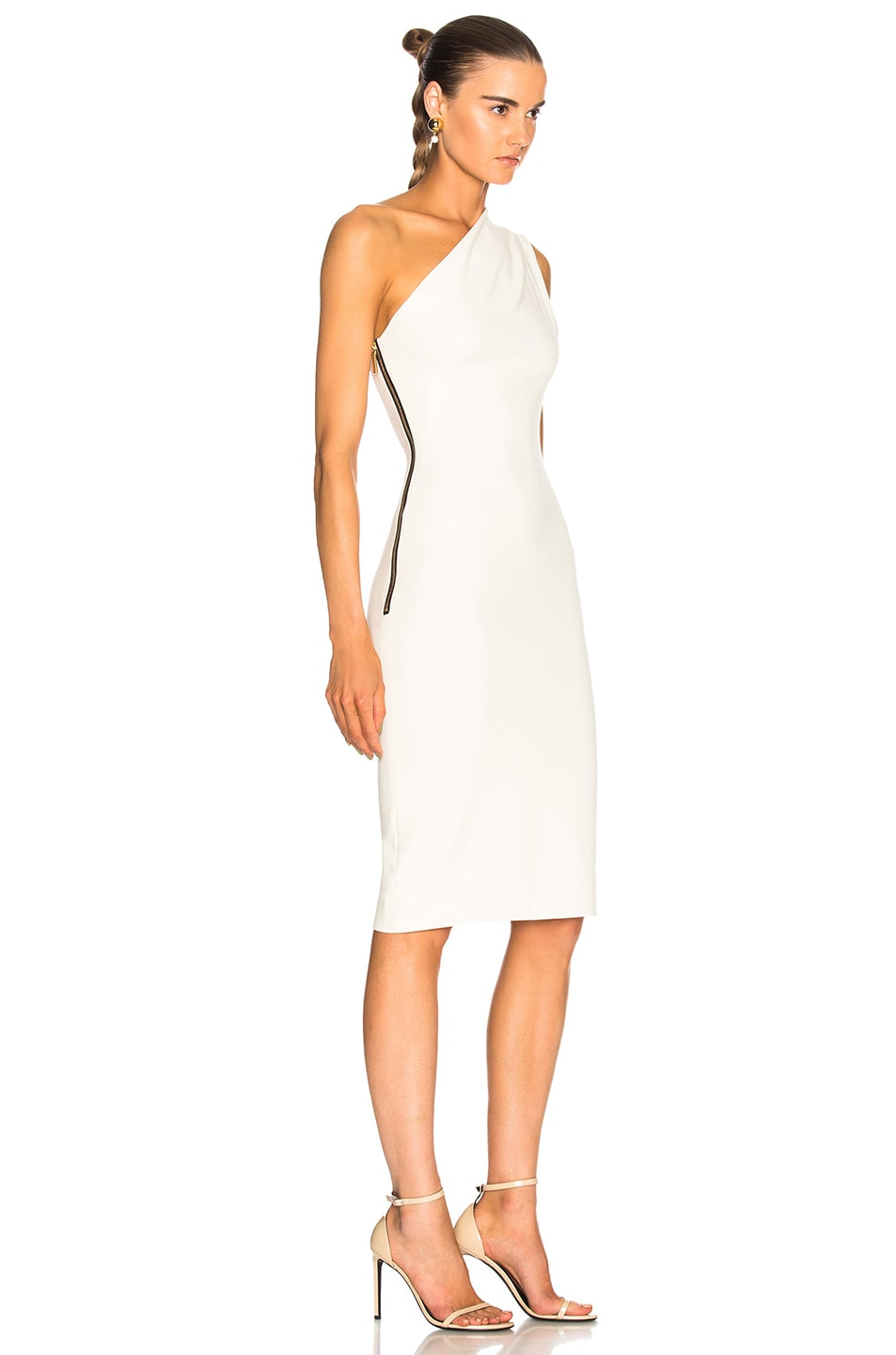 Image 2 of HANEY for FWRD Mila Dress in Ivory