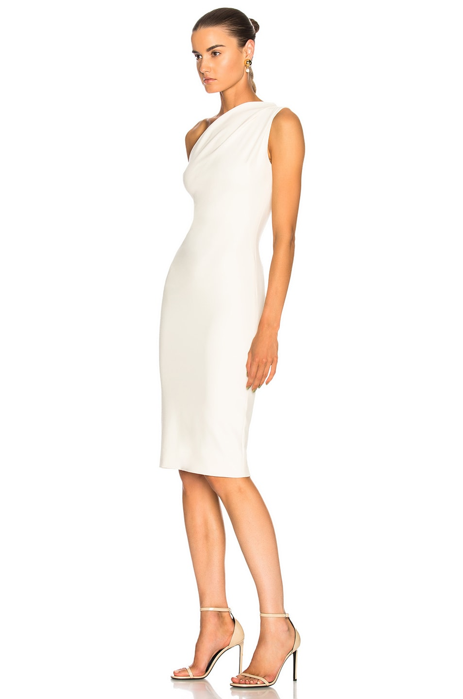 Image 3 of HANEY for FWRD Mila Dress in Ivory