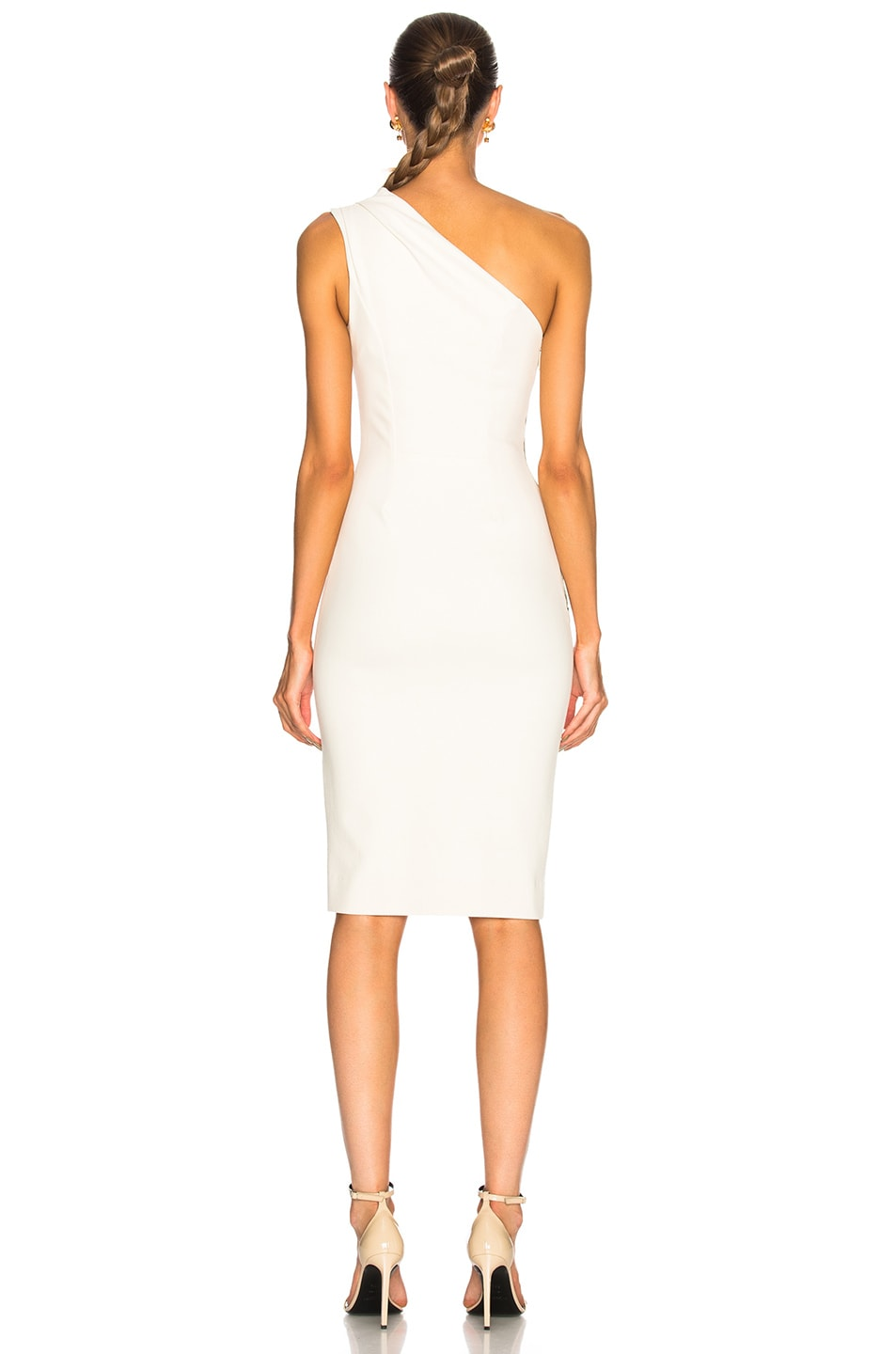 Image 4 of HANEY for FWRD Mila Dress in Ivory