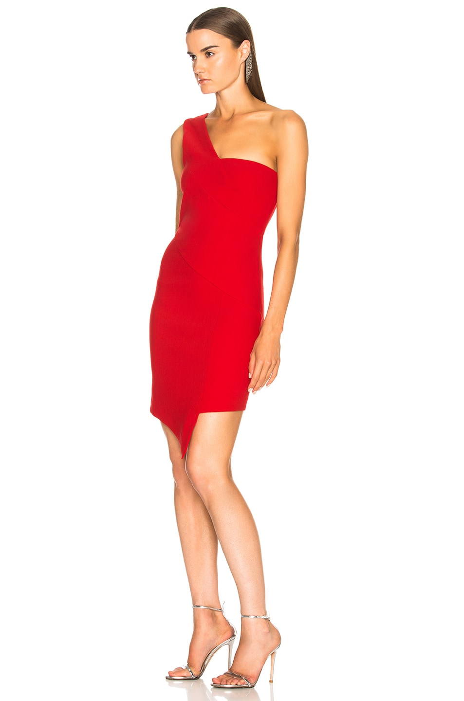 Image 3 of HANEY for FWRD Margot Dress in Red