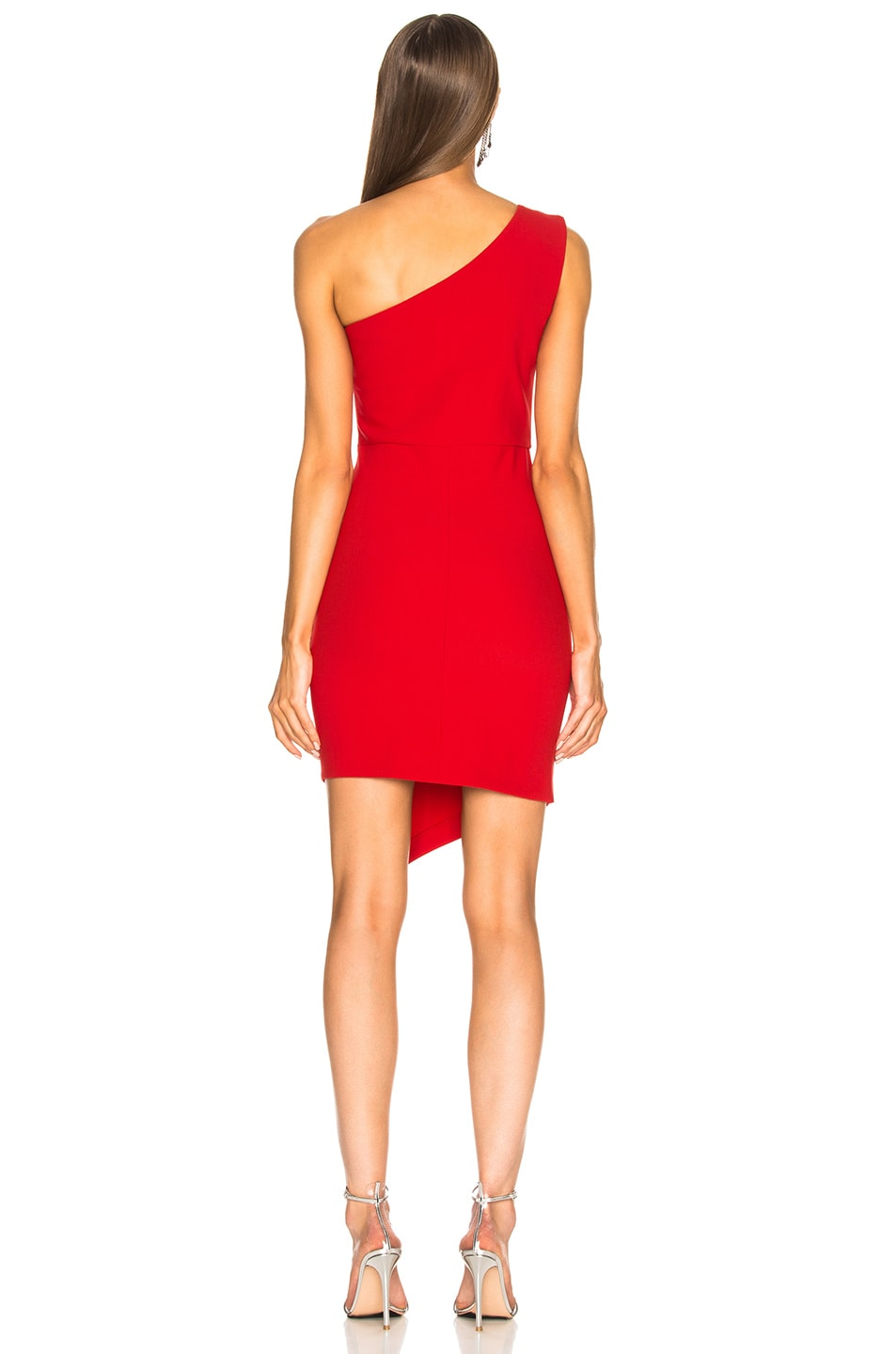 Image 4 of HANEY for FWRD Margot Dress in Red