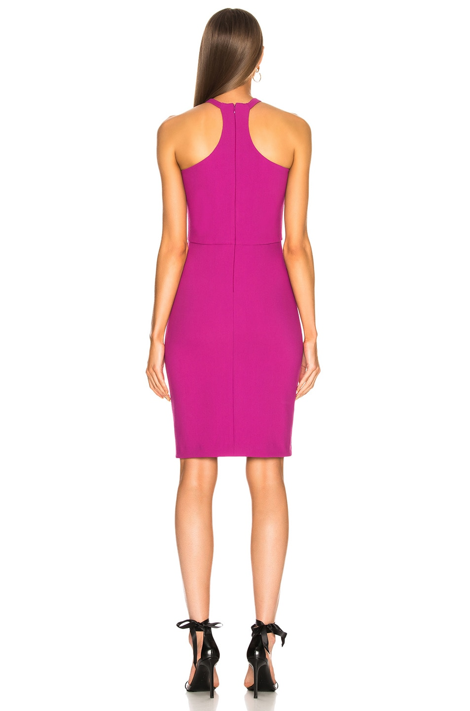 Image 3 of HANEY for FWRD Milly Dress in Fuchsia