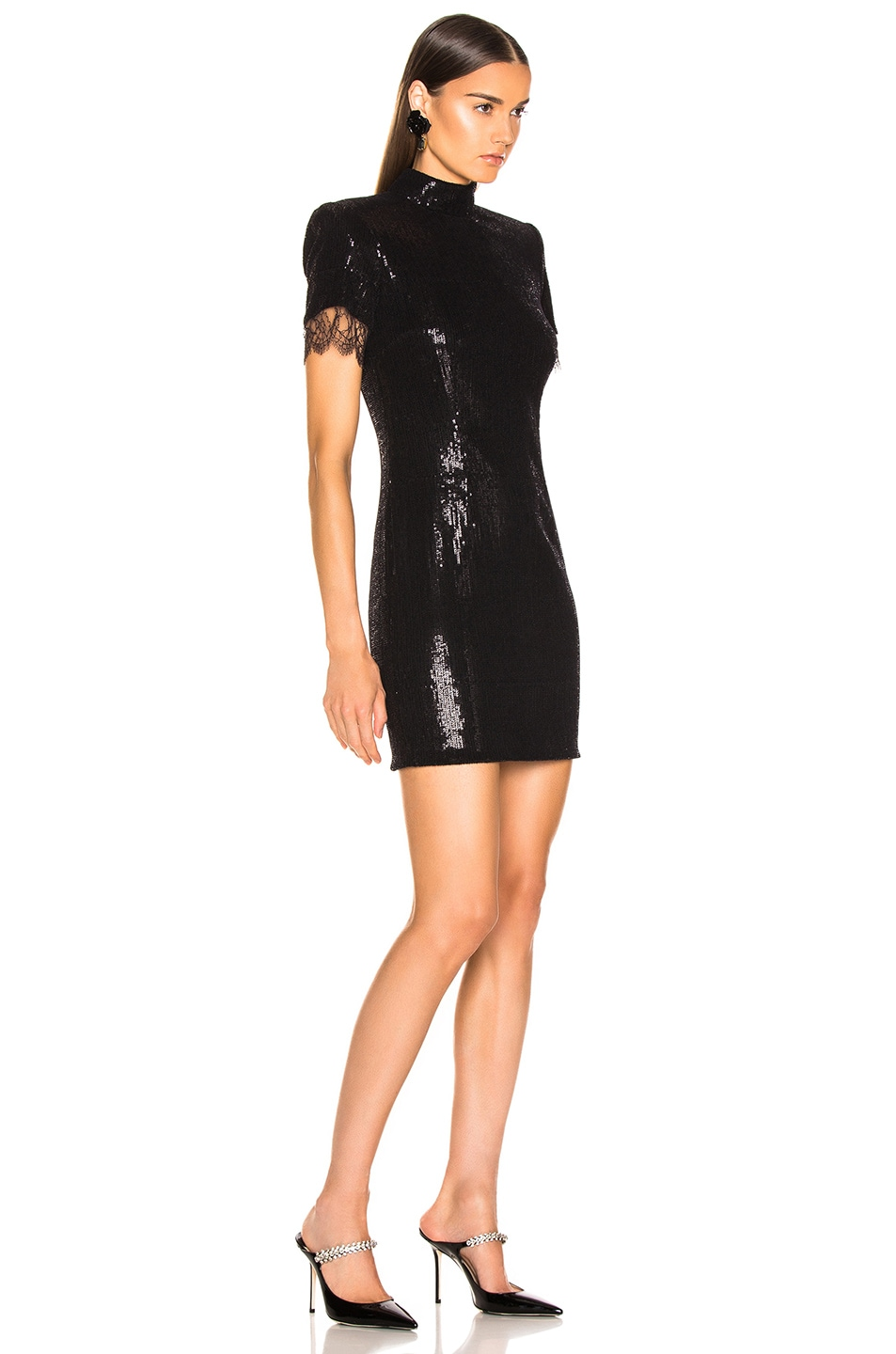 Image 2 of HANEY Edie Dress in Black