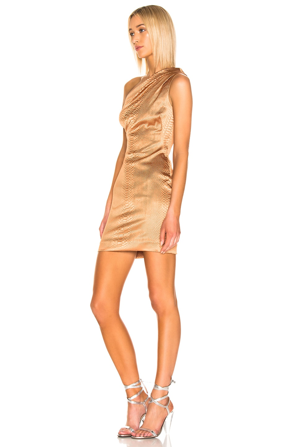 Image 2 of HANEY Valentina Dress in Caramel