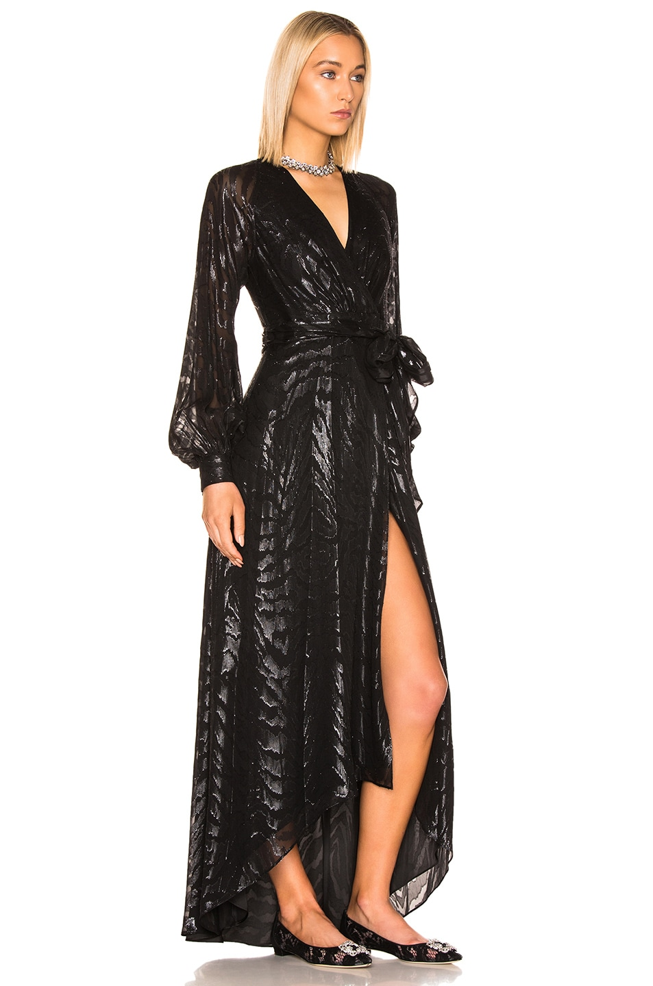 Image 2 of HANEY Coco Gown in Black