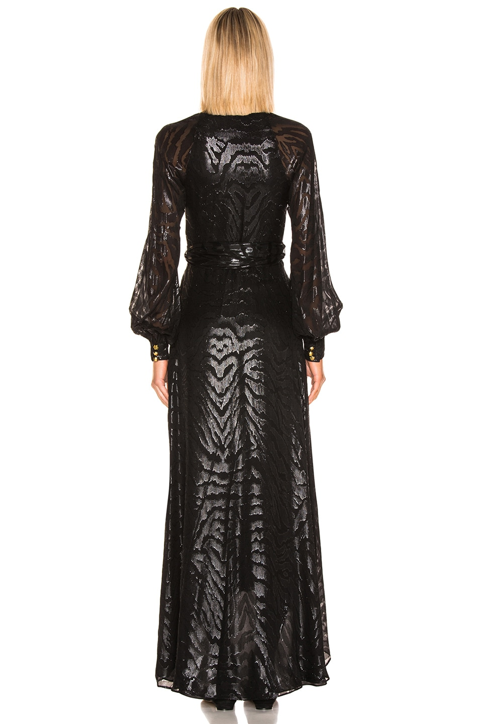 Image 3 of HANEY Coco Gown in Black