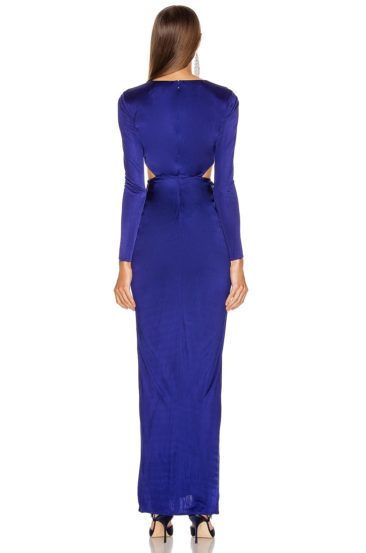 Image 3 of HANEY Erin Jersey Gown in Cobalt