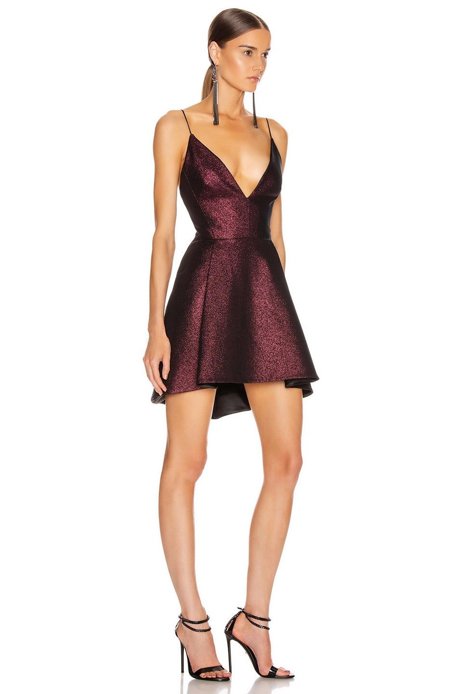 Image 2 of HANEY Elena Dress in Plum