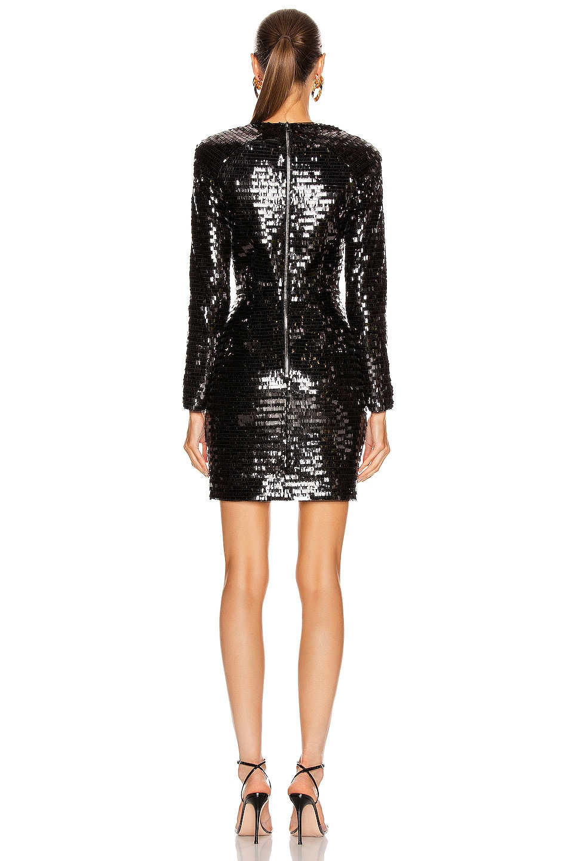 Image 3 of HANEY Alexandra Dress in Black