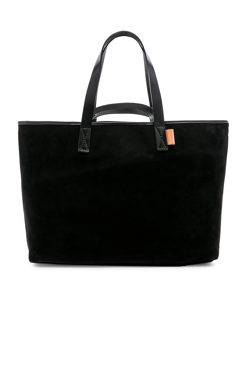 Image 1 of Hender Scheme Leather Tote in Black