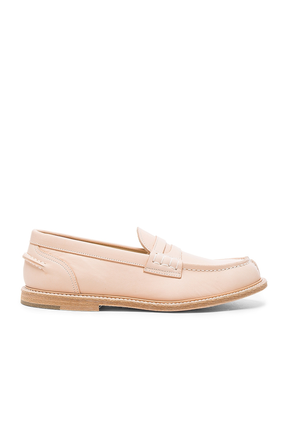 Image 1 of Hender Scheme Leather Loafers in Natural