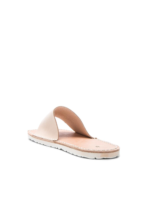 Image 3 of Hender Scheme Leather Slide Sandals in Natural