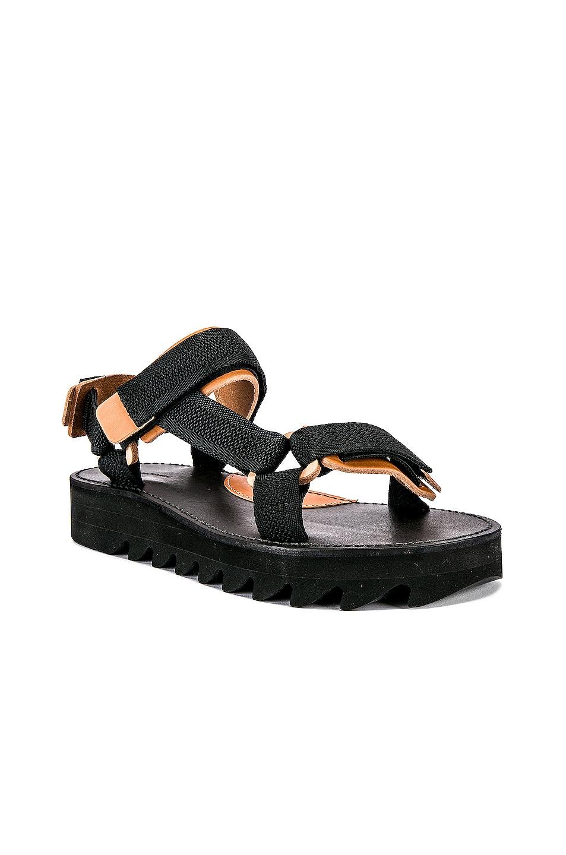Image 1 of Hender Scheme Webb Sandal in Black & Natural