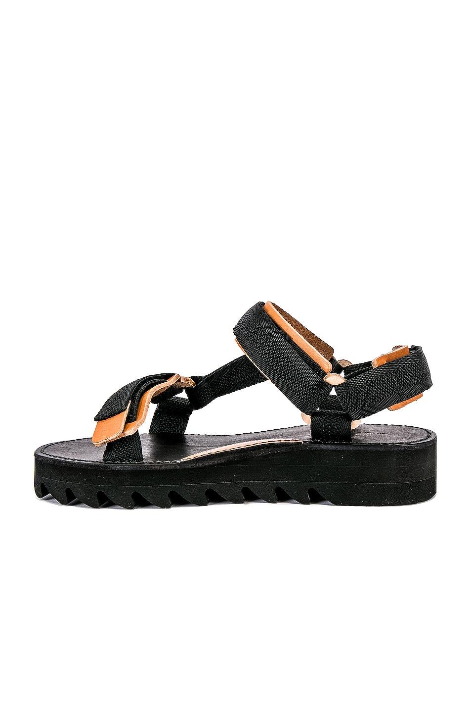 Image 5 of Hender Scheme Webb Sandal in Black & Natural