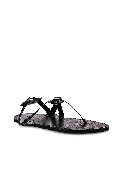 Image 1 of Hender Scheme Device Strap Sandal in Black