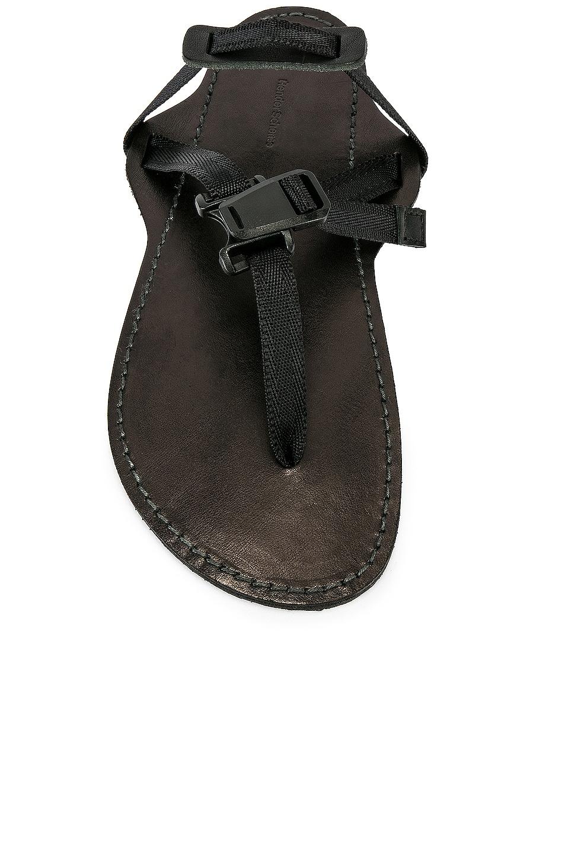Image 4 of Hender Scheme Device Strap Sandal in Black